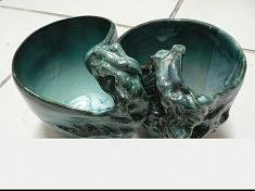 tasses amoureuses, céramiques émaillées, 2012