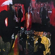 Série Digital Street Wall, DSW - III, technique mixte sur toile, 60x60x5cm, 2019
