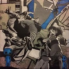 Série : URDA, acrylique sur toile, 20x20cm, 2017
