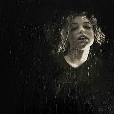 Série Portrait, Amfl 1, technique mixte sur toile, 30x30cm, 2021