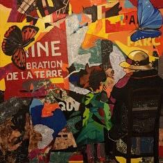 Série Miroir - Mémoire N1, technique mixte sur toile, 100x100x10cm, 2019