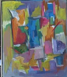 Acrylique sur toile 53,5*43,5