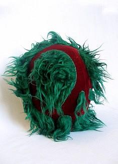 Funky Migou, textiles mixtes - env. 30 cm de haut - - - - - - - - - - - - - - - - - -