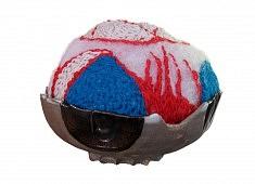 OstralopiCloud - céramique, ouate, fil de laine - env. 15 cm de haut - - - - - - - - - - -