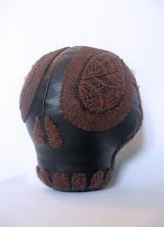 Tribalita -  textiles mixtes, fil de coton - env. 20 cm de haut - - - - - - - - - - - - -