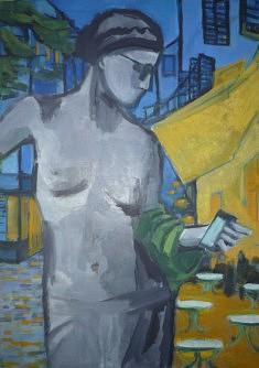"""""""La Vénus d'Arles"""" 70,5 x50cm"""
