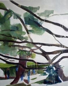 """Série """"danSer au parc"""", 100 x 80 cm"""