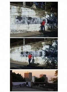 Collages de rue- RIO de Janeiro 2010