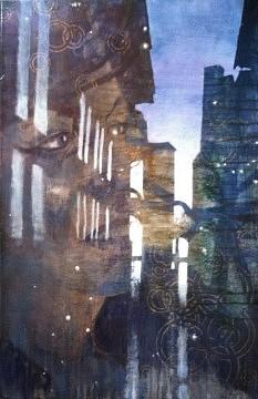 Changement d'état - 2011 - acrylique sur toile - 100x65 cm