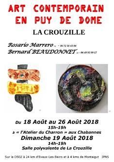 Art Contemporain en Puy De Dôme