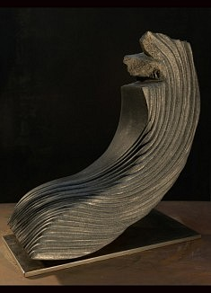 Turbulence - Granite – 40 x 37 x 20 cm