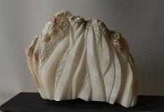 Laminaires - Albâtre - 17 x 24 x 9 cm