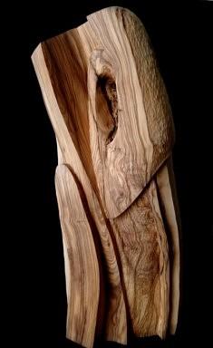 L'infini - Bois d'Olivier – H : 68cm – Circonf. 66cm