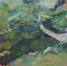 Jardin zen, II, hst 80*80 cm