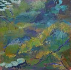 Jardin zen, III, hst 80*80 cm