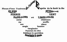 PROMENADE ARTISTIQUE DE MOLINEUF  13ème édition  14,15 et 21,22 septembre 2019 INSTALLATION sur la Promenade des Rinceaux Collectif 6 s/Cisse