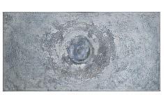 Cosmique Blues,Technique mixte sur toile 60x120cm