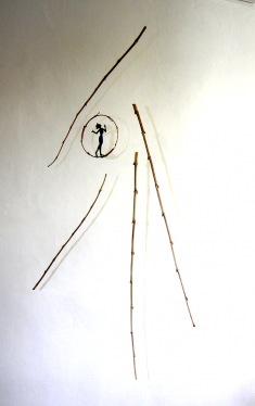 Bambella, hauteur : 50 cm