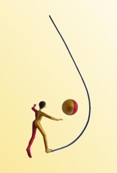L'équilibre, 30 x 50 cm - 300 €