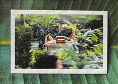 Méridienne, Hasard routier, papier Unryu 21x15