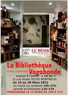 La Bibliothèque Vagabonde et Le Printemps des Poètes