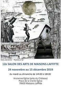 12e SALON DES ARTS DE MAISONS-LAFFITTE