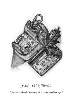 """Adel. Illustration pour le livre """"Centocelle Melting Pot"""""""