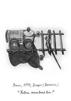 """Romeo. Illustration pour le livre """"Centocelle Melting Pot"""""""