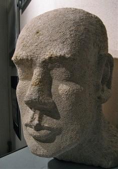 TETE - Calcaire de Massangis - H 40 cm - 2009