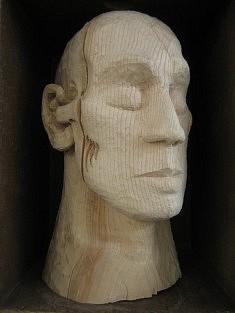 LOUIS - Hêtre - H 30 cm  -  2010