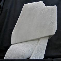 CENT LIGNES - Gypse de maurienne - H 40 cm  - 2005