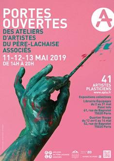PORTES OUVERTES des Ateliers des Artistes du Père Lachaise (A.P.L.A.)