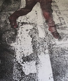 """Œuvre de la multitude"" 2015 Eau-forte"