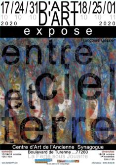 3 week-ends   Centre d'Art de l'Ancienne synagogue  Avenue de Turenne 77 260   La Ferté sous Jouarre