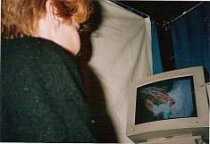 """""""A l'ombre d'un autoportrait"""" Beaubourg 1991"""