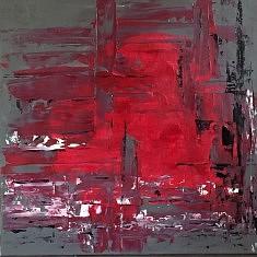 Hope, acrylique 70x70