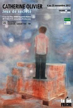 Jeux de société Exposition personnelle 04/11 au 25/11 2017 galerie In Situ Nogent le Rotrou