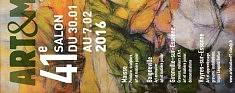 du 18 janvier au 5 fevrier 2017 42e salon art et matière /