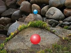 PHOTOGRAPHIE NUMÉRIQUE (2011): Land Art, 2011.06.11-PHOTO-1a • Série  « Rochers de la Dilane »,  Batz-sur-Mer