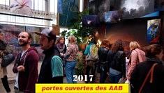Atelier MIKI TICA, Ambiance pendant les Portes Ouvertes des AAB en mai 2017