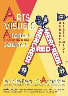 le Mercredi jeunes  Atelier arts visuels