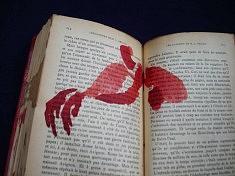 peinture en livre R.M. Rilke