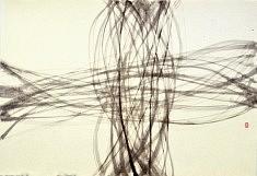 Calligraphie II - 2013 - Encre de chine - 35 x 51 cm
