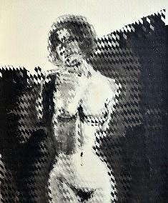 Nu évanescent (Hommage à Man Ray) - 2013 - Encre de chine - 90 x 70 cm