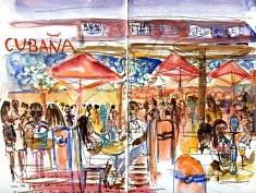Au Cubana, Capetown, Carnet Afrique du sud, nov 2017