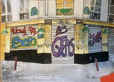 au café de la rue de l'Orillon 1