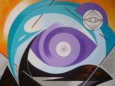 """""""L'œil du monde - 2011 (54x65cm)"""