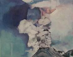 Sans titre, huile sur toile, 92 x 73cm, 2020