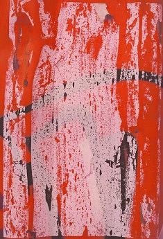 Rouge 2 - impression sur toile, format sur commande