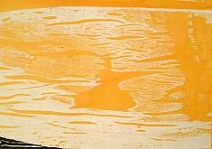 Orange 2 - impression sur toile, format sur commande